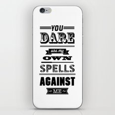 HP Quotes - Half Blood Prince iPhone & iPod Skin