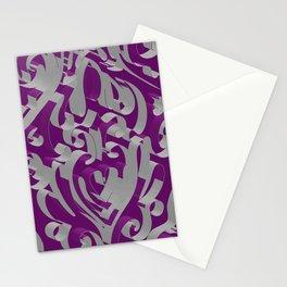 3D Ornamental Background Stationery Cards
