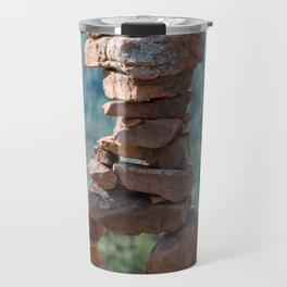 Military Sinkhole Scenic Outlook Rock Figure Travel Mug