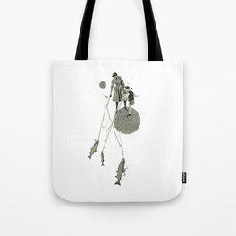 April | Collage Tote Bag