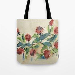 Roses 3 (watercolor) Tote Bag