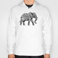 ornate Hoodies featuring Ornate Elephant 3.0 by BIOWORKZ