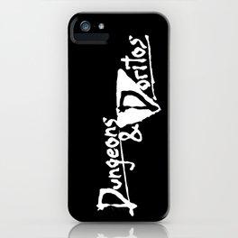 """Hearts of Darkness"" - Dungeons & Doritos iPhone Case"