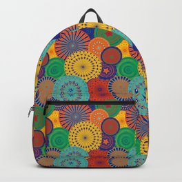 Morroccan Plates Backpack