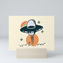 The Escape (cream) Mini Art Print