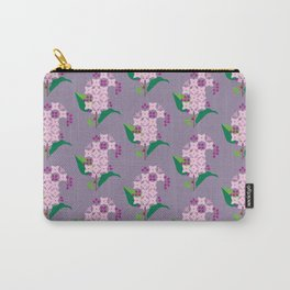 Lilac Carry-All Pouch