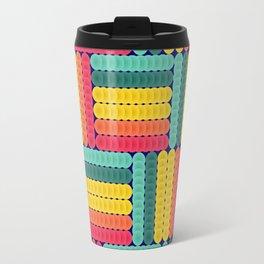 Soft spheres pattern Travel Mug