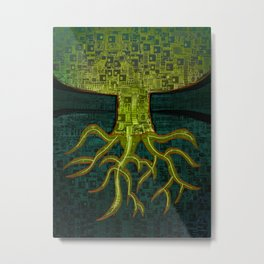 Tree Town - ROOTS Metal Print