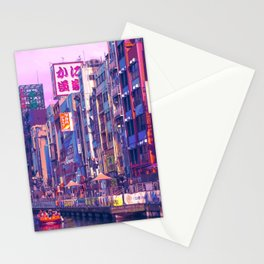 Osaka Citypop Stationery Cards