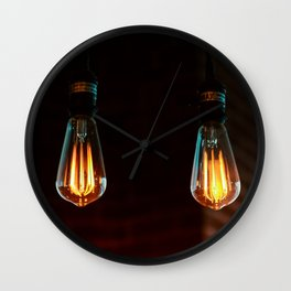 light bulbs 3 Wall Clock