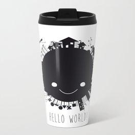 Hello, world! Metal Travel Mug