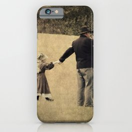 Union Soldier and Daughter iPhone Case