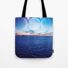 Starry Night in Dunedin Tote Bag