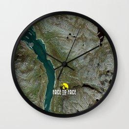 Face To Face - Ape & Man Wall Clock