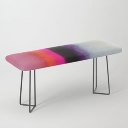 Pink Silver Bench