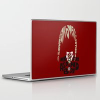 soul eater Laptop & iPad Skins featuring maka albarn soul eater by Rebecca McGoran