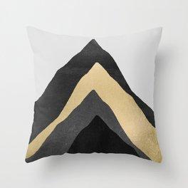 Four Mountains Throw Pillow