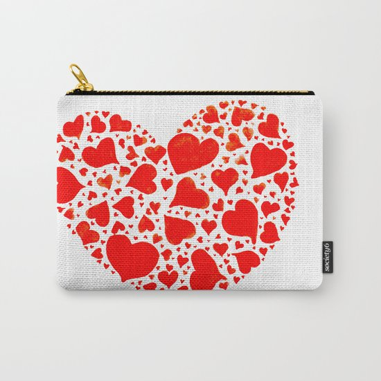 So many hearts Carry-All Pouch