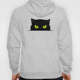 Black cat follow you #society6 #decor #buyart #artprint Hoody