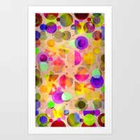 candy Art Prints featuring Candy by SensualPatterns