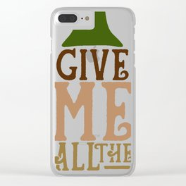 Give me wine Clear iPhone Case