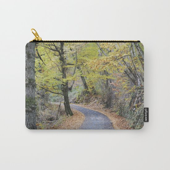 Into the autumn woods Carry-All Pouch