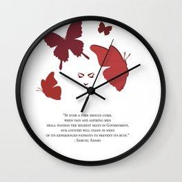 Patriot by HeavenNezCree Wall Clock