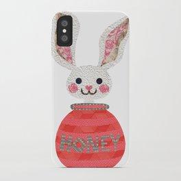 I Love You Honey Bunny iPhone Case