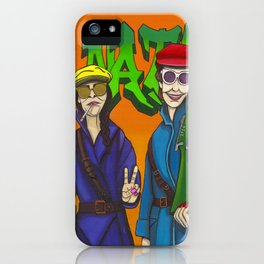 WHO RUNS THE WORLD... iPhone Case