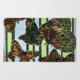 Six Butterflies Rug