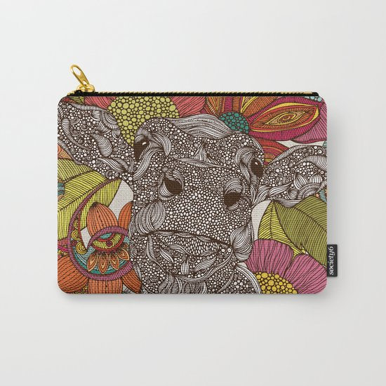 Arabella and the flowers Carry-All Pouch