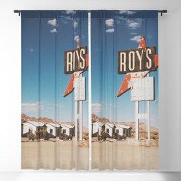 Roy's Motel Blackout Curtain