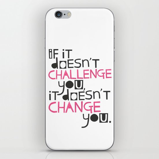 Challenge iPhone & iPod Skin