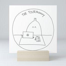 The TourBunny Circle Mini Art Print
