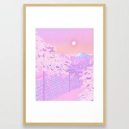 Fuji Valentine Framed Art Print