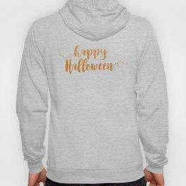 Happy Halloween | Orange Glitter Hoody