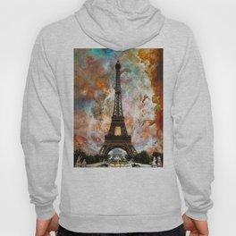 The Eiffel Tower - Paris France Art By Sharon Cummings Hoody