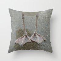 feet Throw Pillows featuring Feet by Lady Tanya bleudragon
