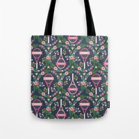 tennis Tote Bags featuring Tennis by Laura Mayes