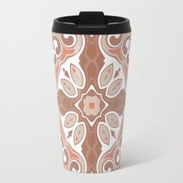 Edwardian Geo Rust Travel Mug