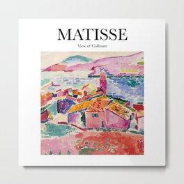 Matisse - View of Collioure Metal Print