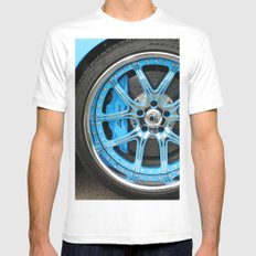 Lamborghini Mens Fitted Tee White MEDIUM