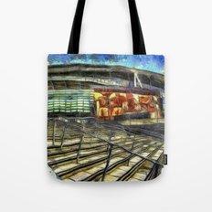 Arsenal FC Emirates Stadium Van Gogh Tote Bag