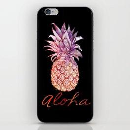 Aloha Pineapple iPhone Skin