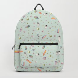 Scattered Jewels in Mint Backpack