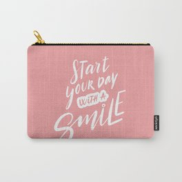 Start Your Day with a Smile Carry-All Pouch