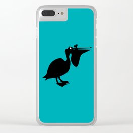 Angry Animals: Pelican Clear iPhone Case