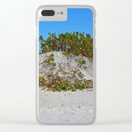 Dunes on Gasparilla III Clear iPhone Case