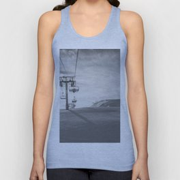 Alps ski lifts Unisex Tank Top