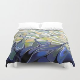 The earth seen from the space Duvet Cover